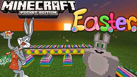 Мод Easter для Minecraft PE
