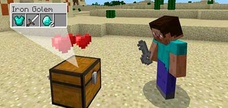 Lockable Chests mcpe 1