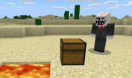 Lockable Chests mcpe 3