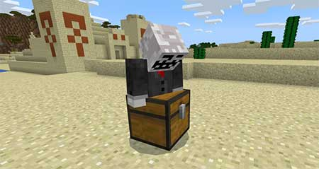 Lockable Chests mcpe 2