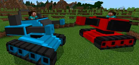 MultiplayerTanks mcpe 1