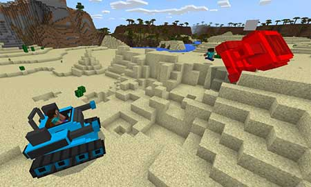 MultiplayerTanks mcpe 3