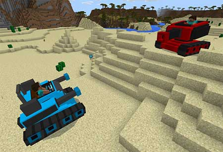 MultiplayerTanks mcpe 2