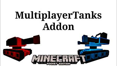 Мод MultiplayerTanks для Minecraft PE
