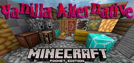 Текстуры Vanilla Alternative для Minecraft PE