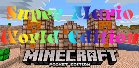 Текстуры Super Mario World Edition для Minecraft PE