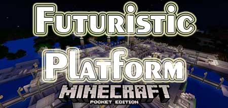 Карта Futuristic Platform для Minecraft PE