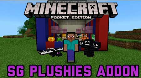 Мод SG Plushies для Minecraft PE