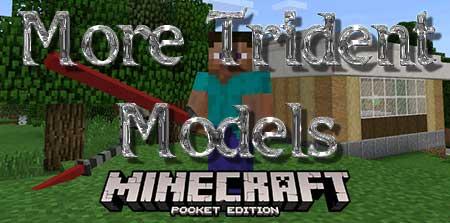 Текстуры More Trident Models для Minecraft PE