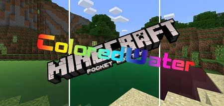 Текстуры ColoredWater для Minecraft PE