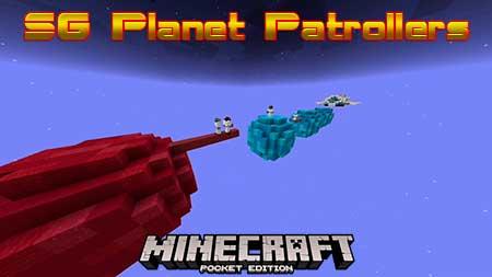 Карта SG Planet Patrollers для Minecraft PE