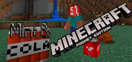 Мод Mint & Cola для Minecraft PE