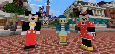 Disney Character mcpe 1