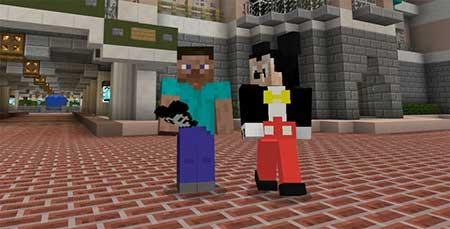 Disney Character mcpe 2