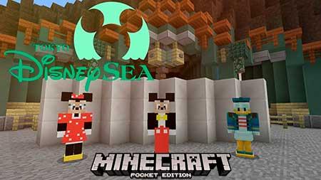 Мод Disney Character для Minecraft PE
