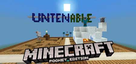 Карта Untenable для Minecraft PE