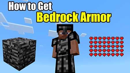 Мод Bedrock Armor для Minecraft PE