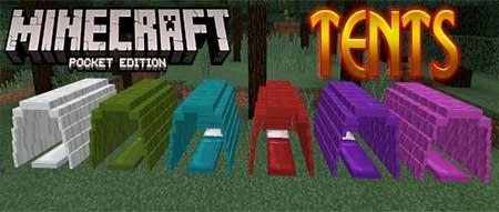 Текстуры Tents для Minecraft PE