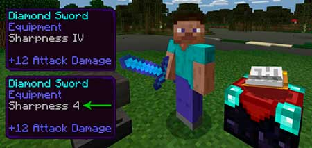 Better Enchantment Names mcpe 2