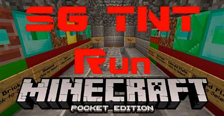 Карта SG TNT Run для Minecraft PE