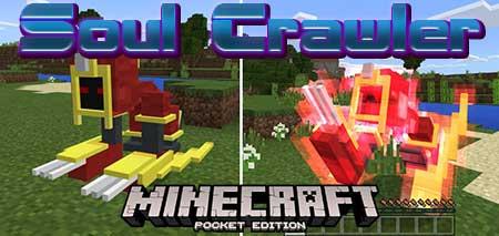 Мод Soul Crawler для Minecraft PE