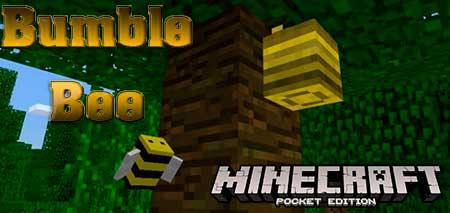 Мод Bumble Bee для Minecraft PE