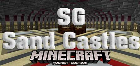 Карта SG Sand Castles для Minecraft PE
