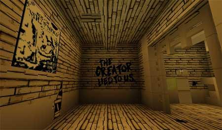 Bendy Game Horror mcpe 1