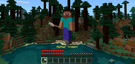 The Aether Trident mcpe 1