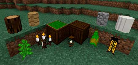 WoodenFurniture mcpe 1