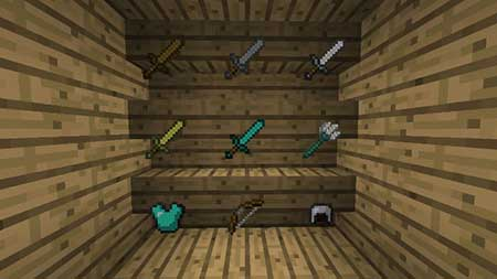 Invisible Item Frames mcpe 2