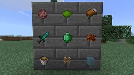 Invisible Item Frames mcpe 3