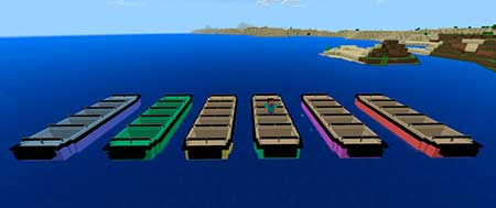 LEMO Attraction Boat mcpe 2