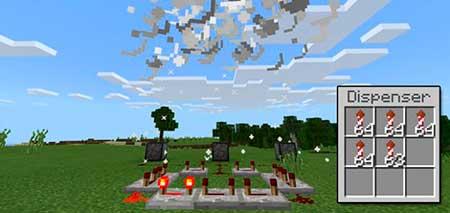 ExplosiveFireworks mcpe 1