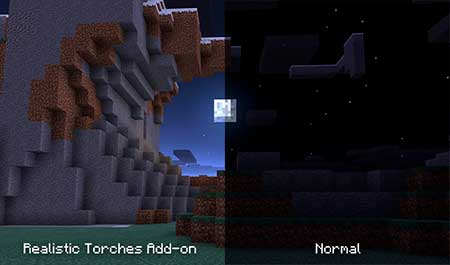 Night Vision Torch mcpe 2