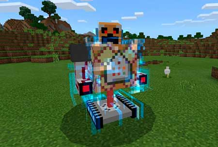Commander Boss Machine mcpe 1