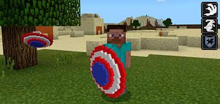 Captain America's Shield mcpe 1