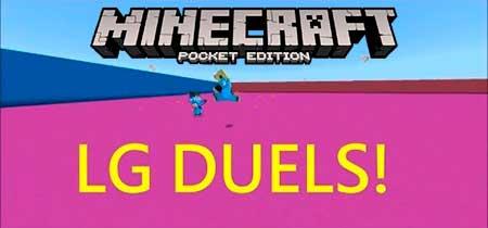 Карта LG Duels для Minecraft PE
