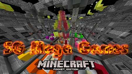 Карта SG Mega Games для Minecraft PE
