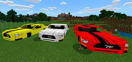 Ford Mustang GT 2015 mcpe 1