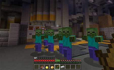 SG Zombies 3 mcpe 2