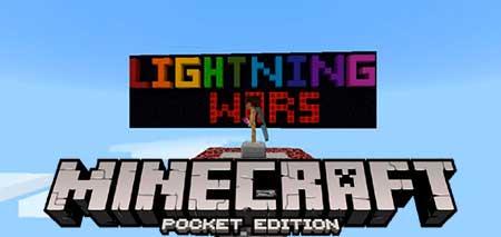 Карта Lightning Wars для Minecraft PE