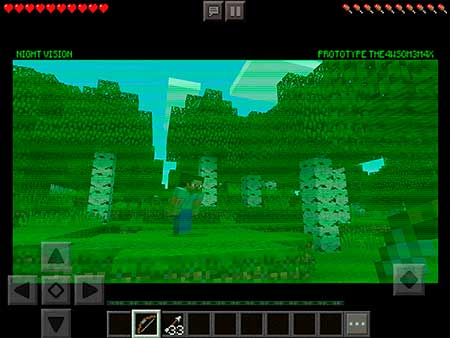 Night Vision Goggles mcpe 1