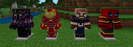 Avengers Infinity War mcpe 1
