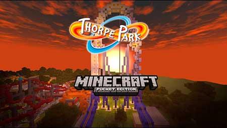 Карта Thorpe Park для Minecraft PE