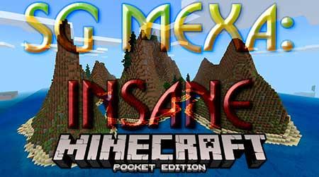 Карта SG Mexa: Insane для Minecraft PE
