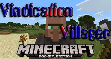 Мод Vindication Villager для Minecraft PE
