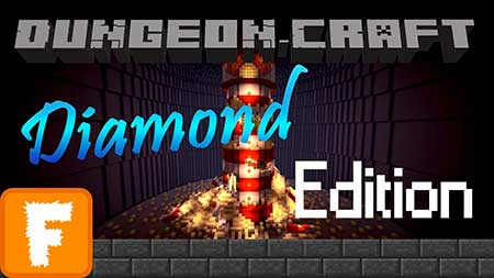 Карта Dungeon-Craft Diamond Edition для Minecraft PE