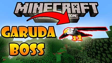 Мод Garuda Boss для Minecraft PE