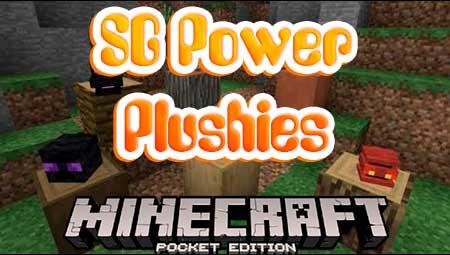 Мод SG Power Plushies для Minecraft PE